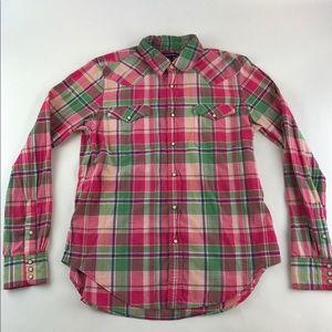 Ralph Lauren Sport Pearl Snap Shirt